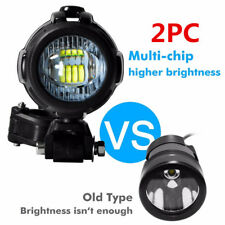 Motorcycle LED Auxiliary Fog Light Assemblie Driving Lamp 40WHeadlight Universal