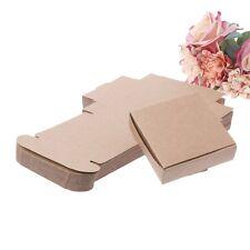 50PCS Kraft Paper Box Wedding Favor Candy Gift Party Supply Craft Box