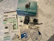 Canon PowerShot Elph Sd750 Digital Camera, Charger, Box, Guides, Cable
