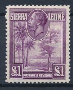 [56398] Sierra Leone 1903 Very good MH stamp $230 (read description)