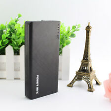 AU Portable 50000mah Power Bank 4usb LED Backup Battery Charger for Iphone7 8 Black