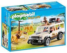 Playmobil Wild Life 6798 Todoterreno Safari con Leones - New and sealed