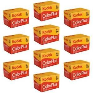 New Kodak GB ColorPlus 135 36exp 200 ISO - 10 Pack