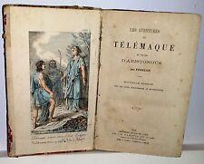 Les aventures de Telemaque 8 litografia acquerellate 1874