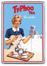 Ty-Phoo Tea Vintage / Retro Advert Poster Fridge Magnet