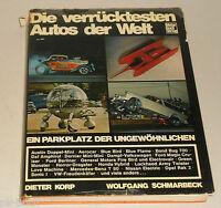 Bildband: Die verrücktesten Autos der Welt von Dieter Korp, 1971