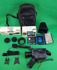 Super 8 Tonfilmkamera BAUER S XL 209 BOSCH MACRO NEOVARON  1:1,2/6-51