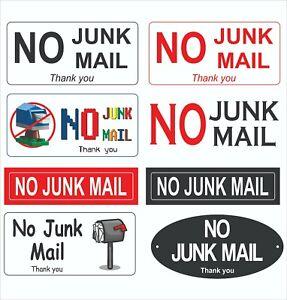 Custom Sticker No Junk Mail Letterbox Stickers Lego Vinyl Decal