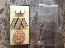 Communist Army East Germany Bronze Medal Ribbon Bar Fur Hervorragende Verdiensie