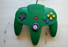 N64 - Original Nintendo Controller Grün (guter Zustand)