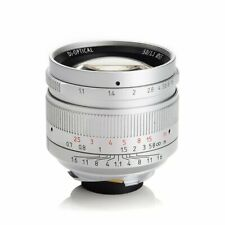 SILVER✮ 7Artisans 50mm f/1.1 manual lens for Leica-M-mount M6 M9 M10 M240 50/1.1