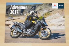 Suzuki V-Strom Adventure Brochure 2017 - V-Strom 1000XT / 1000 V-Strom 650XT/600