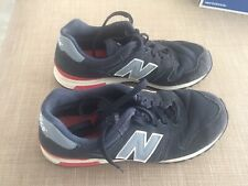 New balance 565 Azul Marino Gris Rojo Zapatillas UK 9