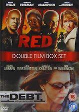 Red starring Bruce Willis & The Debt (2 Disc DVD) Helen Mirren Double Feature