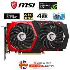MSI nVidia GeForce GTX 1050 Ti Gaming X 4GB Graphics Video Card