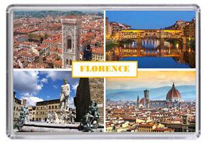 Florence Italy Fridge Magnet Free Postage