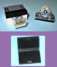 CD DVD Blue-ray Player Laptop Clock Radio Disk Drive MOC - MADE OF LEGO BRICKS