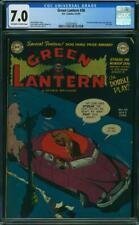 Green Lantern #38 CGC 7.0 DC 1949 Golden Age! Last Issue! JLA! K4 153 cm clean
