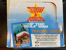1991 Triumphs & Horrors Of The Gulf War Trading Cards Factory Box Set (50 Cards)