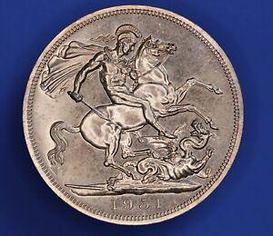 1951 George VI Festival of Britain Crown 5 Shillings 5/- coin *[23029]