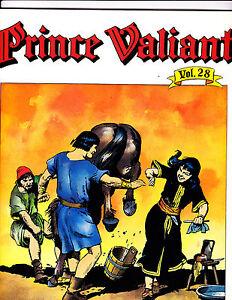 "Prince Valiant Vol 28-1985-Strip Reprints Soft Cover-""Sauge Girl1st Print! """