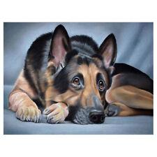 5D Dog Animal DIY Diamond Painting Embroidery Cross Craft Stitch Home Decor Art