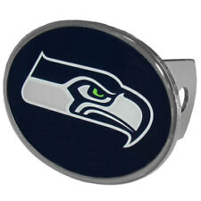 Seattle Seahawks Metal Oval Hitch Cover NFL Licensed Football
