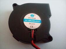 Fan ventiladores Blower 24v 50mm para enfriar de Filament para impresoras 3d.