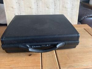 Lockable SAMSONITE Hardshell Slim Briefcase with Storage Pockets No Key