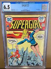 Supergirl #10 CGC 6.5 1974 DC Comics Last Issue to 1st Classic Series Bronze Age