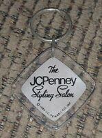 Vintage JC Penney Styling Salon YOU'RE VERY SPECIAL keychain KEYRING JCPENNEY