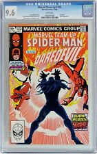Marvel Team-Up #123 (1982) CGC 9.6 NM+ Spider-Man & Daredevil - WHITE Pages