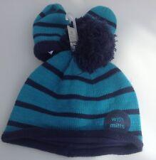 Next baby boys hat and mitten set age 3-6 months