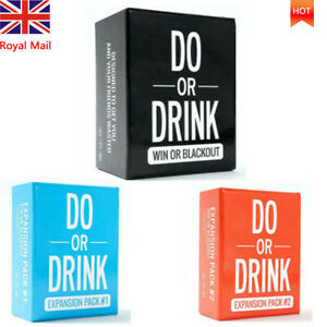 Drinking Card Do or Drink Game Card Fun Game for Adults Dare Shots Dirty Party