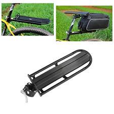 Back Rear Rack Alloy Bike Bicycle Seat Post Frame Carrier Holder Cargo Racks US