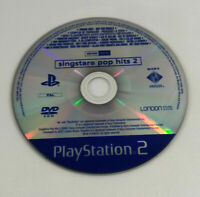 Jeu PS2  en loose  Demo Disc Promo  Singstar Pop Hits 2  Envoi rapide et suivi