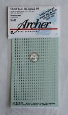 Archer (Various Scales) Surface Details #9 Large Fastener Heads (3 type) AR88009