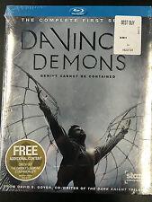 Da Vinci's Demons (Blu-ray Disc, 2013, 3-Disc Set) Complete First Season