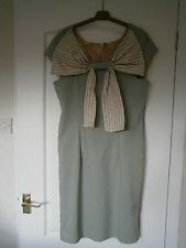 Ladies Lined Pale Green Dress Size 12/14 approx Brand New With Tags