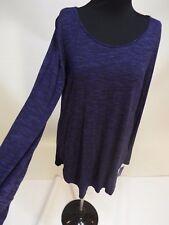 Tunic shirt  fall women Wear purple top siz M by Apt 9 NWT free ship