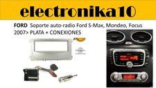 Marco Montaje auto  auto radio Ford S-Max, Mondeo Focus 2007> plata + kit