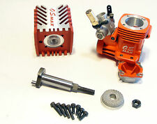 """Vintage O. S. Max 12 CV (RED) Nitro Engine - INCOMPLETE  - """"NEW OTHER"""" - RARE!"""