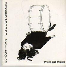 (AZ940) Underground Railroad, Sticks And Stones - DJ CD