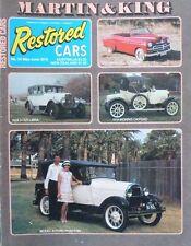 Restored Cars Magazine No 34 May/June 1979 - 1953 Vauxhall Tourer