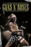 "GUNS N' ROSES POSTER ""AXL ROSE LIVE IN SHORTS"""