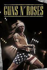 "GUNS N' ROSES POSTER ""AXL ROSE LIVE IN SHORTS"""