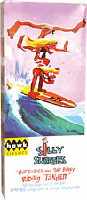 Hawk Silly Surfers Hot Dogger and Surf Bunny Riding Tandem Weird-ohs Model Kit