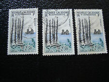 NOUVELLE CALEDONIE timbre yt n° 284 x3 obl (A4) stamp new caledonia