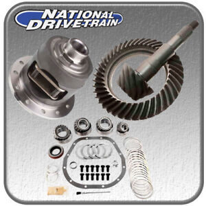 RING AND PINION, BEARING INSTALL KIT & POSI - FITS FORD 10.25/10.5 STERLING 4.56