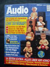 Audio 7/94 Studer DAT 780,d 730,731,a 623, Dali Gravity, Sony représente 1000 il, X 779 il